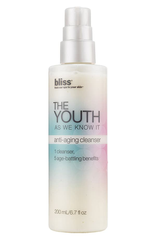 Main Image - bliss® 'The Youth as We Know It' Anti-Aging Cleanser
