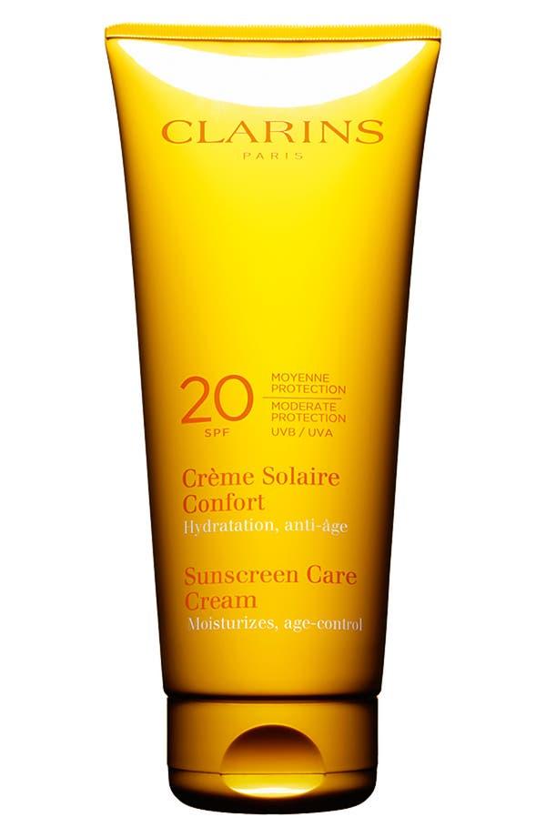 Main Image - Clarins Sunscreen Care Cream SPF 20