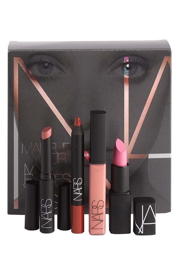 Alternate Image 1 Selected - NARS 'Makeup Your Mind: Express Yourself' Lip Kit (Nordstrom Exclusive) ($97 Value)