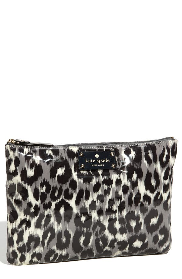 Main Image - kate spade new york 'daycation - large' flat pouch