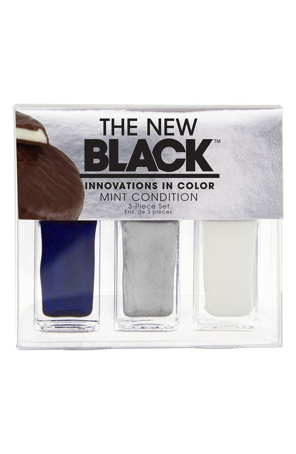 Main Image - THE NEW BLACK 'I Want Candy - Mint Condition' Nail Polish 3-Piece Set