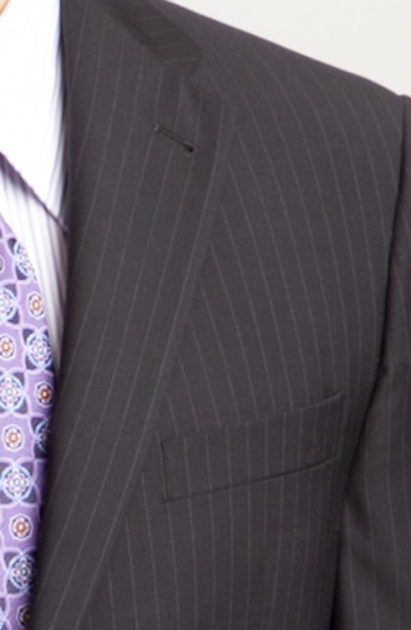 Alternate Image 6  - Joseph Abboud Two Button Stripe Suit