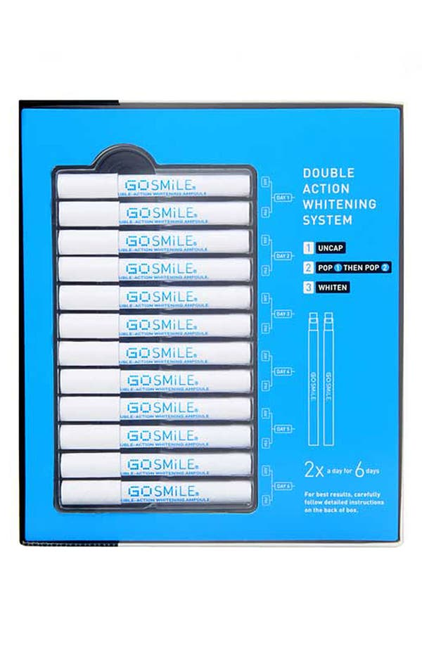 Alternate Image 1 Selected - GO SMiLE® Double Action Teeth Whitening System (12 Ampoules)