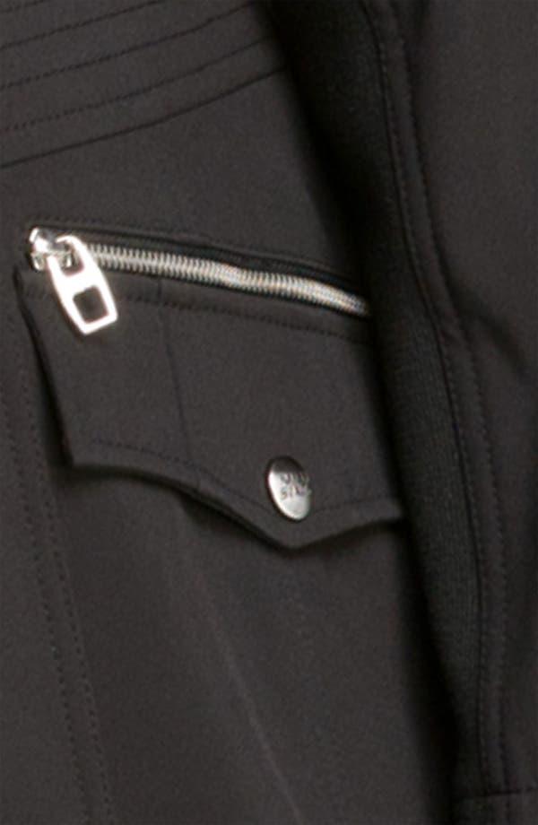 Alternate Image 3  - Miss Sixty Hooded Zip Coat (Plus)