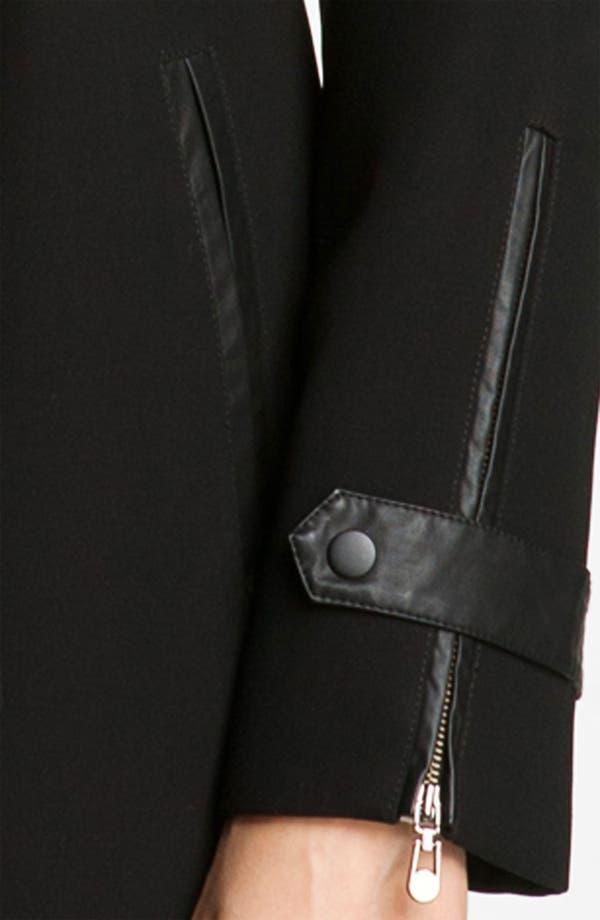 Alternate Image 3  - 1 Madison Wing Collar Belted Coat