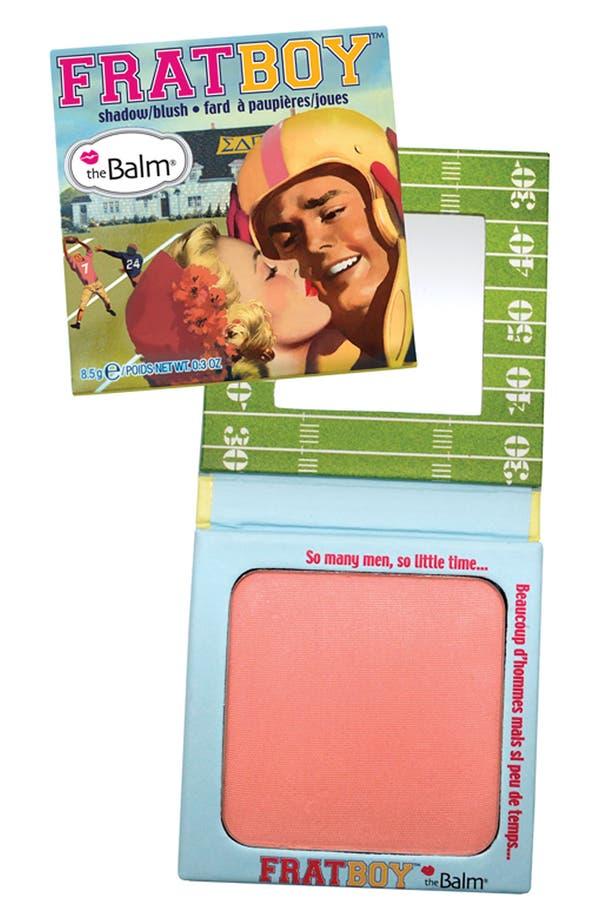 Alternate Image 1 Selected - theBalm® 'Frat Boy®' Powder Eyeshadow & Blush