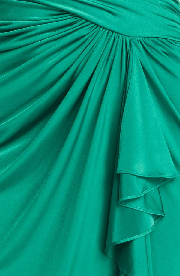 Alternate Image 3  - Tadashi Shoji Ruched Jersey Dress