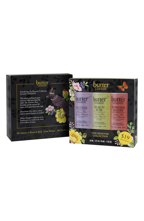 Alternate Image 2  - butter LONDON 'Remover' Trio ($24 Value)