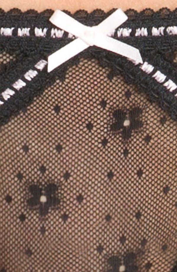 Alternate Image 3  - Betsey Johnson 'Daisy Mesh' Bikini