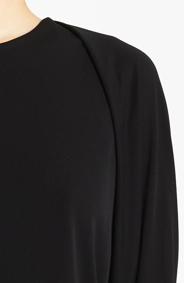 Alternate Image 2  - Lida Baday Matte Jersey Shrug Top