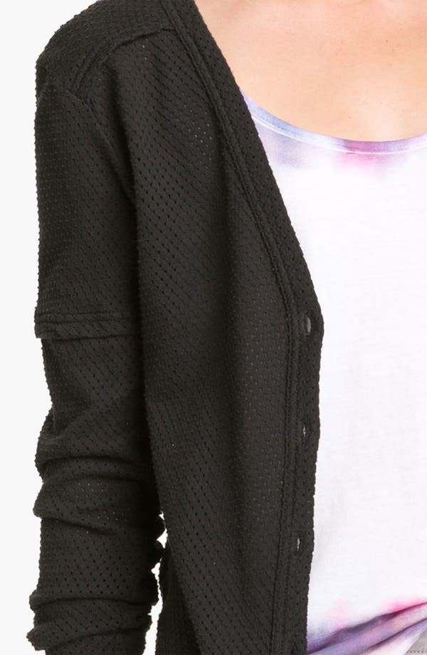 Alternate Image 3  - MARC BY MARC JACOBS Jersey Mesh Cardigan