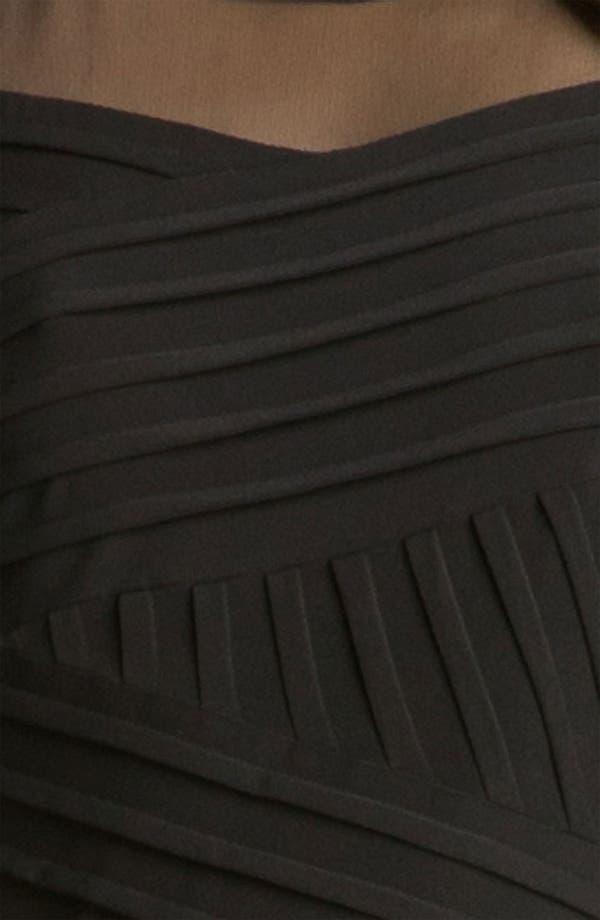 Alternate Image 3  - Calvin Klein Illusion Yoke Pleated Jersey Dress