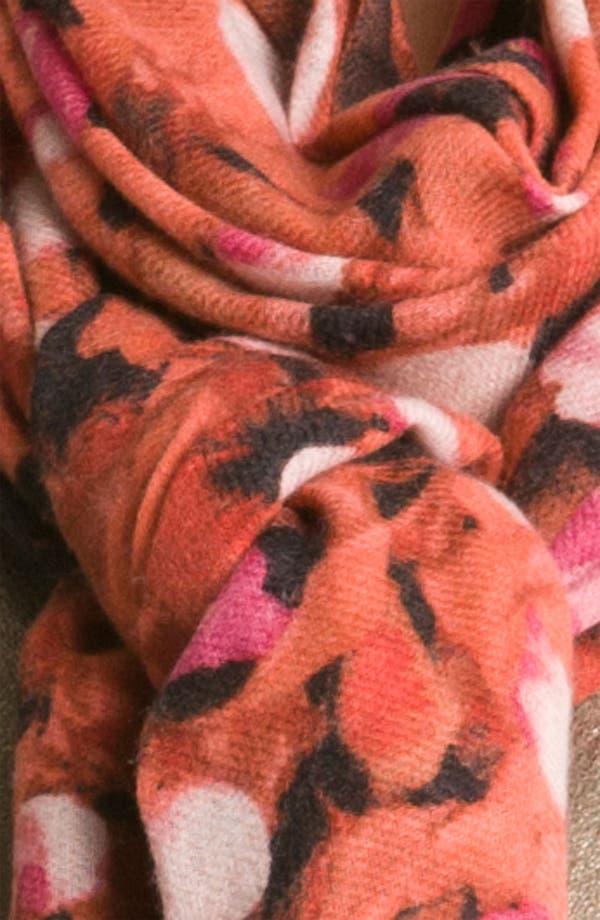 Alternate Image 2  - Nordstrom 'Petals' Wool & Cashmere Wrap