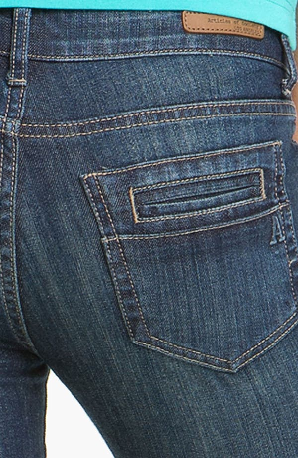Alternate Image 3  - Articles of Society 'Kendra' Bootcut Jeans (Topaz) (Juniors)