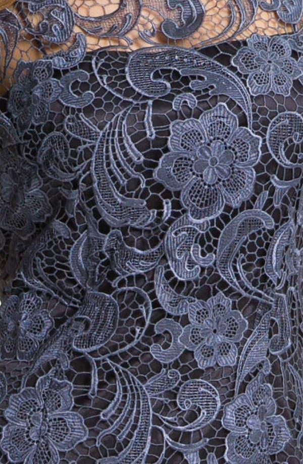 Alternate Image 4  - Patra Crocheted Venise Lace Sheath Dress