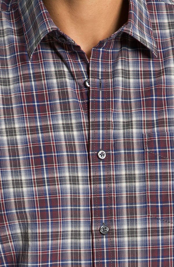 Alternate Image 3  - James Campbell 'Wells' Plaid Sport Shirt