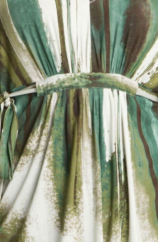 Alternate Image 3  - Karen Kane 'Green River' Print Tunic (Plus)