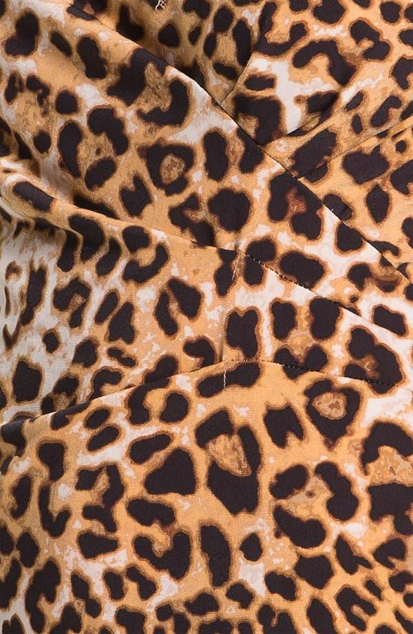 Alternate Image 3  - Anne Klein Animal Print V-Neck Top (Petite)