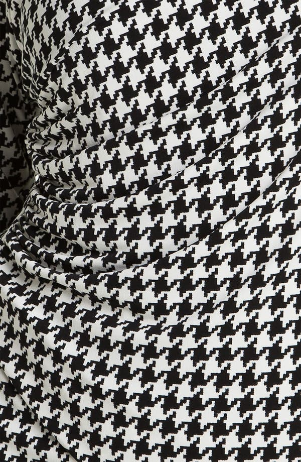 Alternate Image 3  - Vince Camuto Asymmetric Houndstooth Top (Plus)