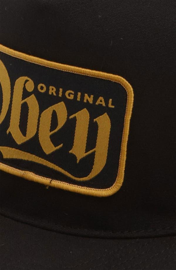 Alternate Image 2  - Obey 'Stout' Snapback Trucker Hat