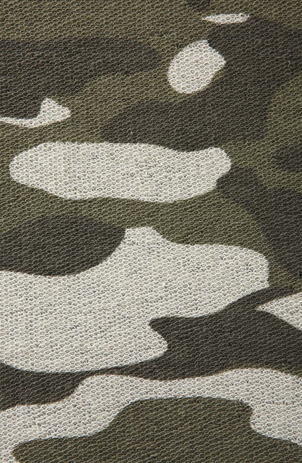 Alternate Image 3  - Topshop Camouflage Sweatshirt