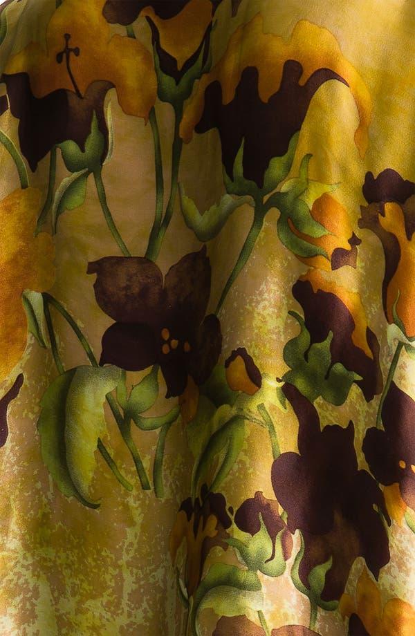 Alternate Image 2  - Citron Print Tunic & Scarf (Plus)