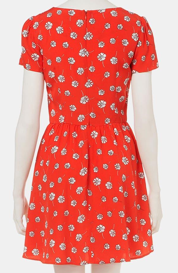 Alternate Image 2  - Topshop Daisy Print Dress