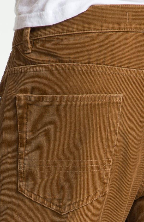 Alternate Image 3  - Brooks Brothers Slim Fit Corduroy Pants