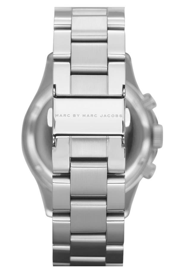 Alternate Image 2  - MARC JACOBS 'Rock' Chronograph Bracelet Watch
