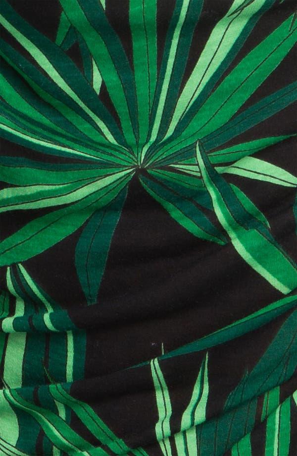 Alternate Image 3  - MICHAEL Michael Kors Print Drape Neck Top