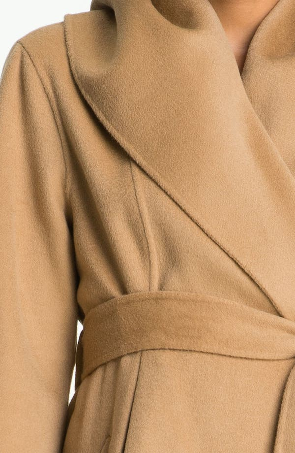 Alternate Image 3  - Dawn Levy Wool & Cashmere Wrap Coat (Online Exclusive)