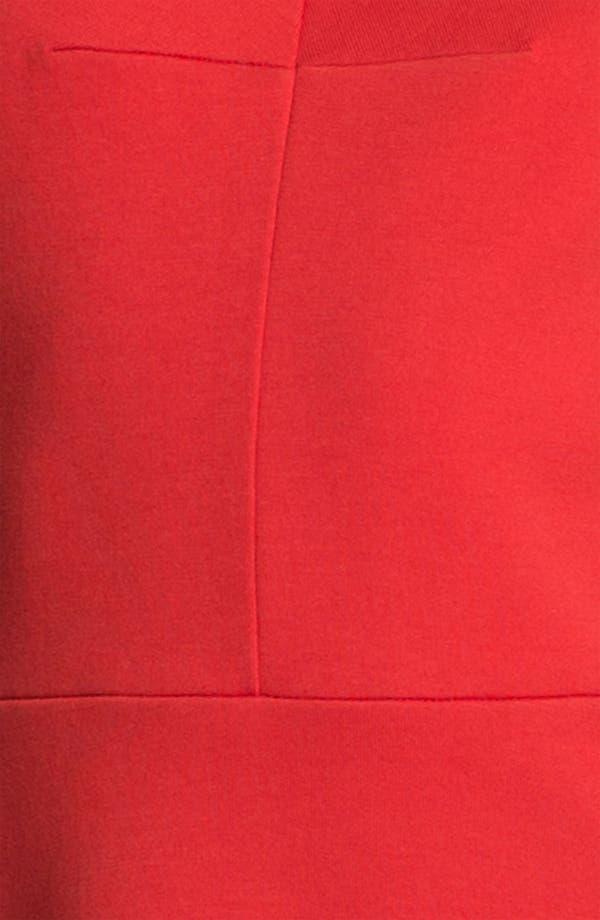 Alternate Image 3  - Carven Seamed Jersey Dress