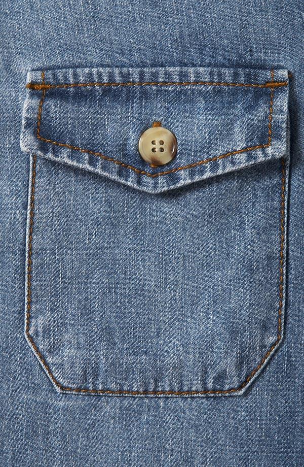 Alternate Image 3  - Topshop Vintage Oversized Denim Shirt