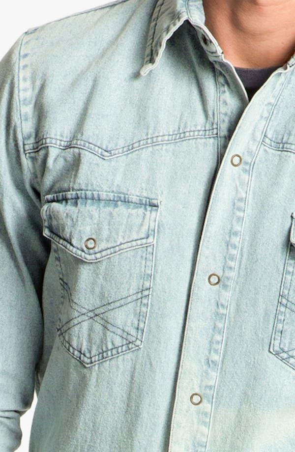 Alternate Image 3  - Vanguard Western Denim Shirt