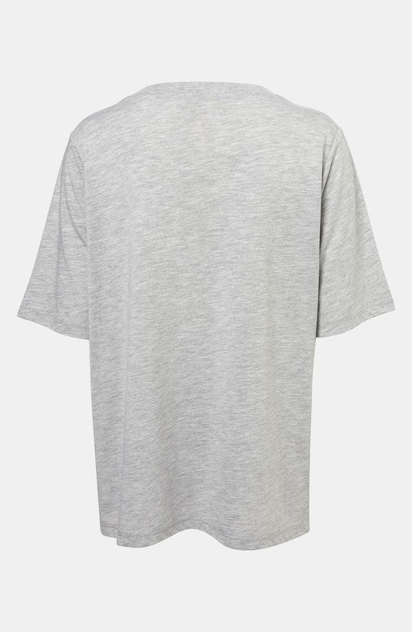 Alternate Image 2  - Topshop Boutique Boxy V-Neck Tee