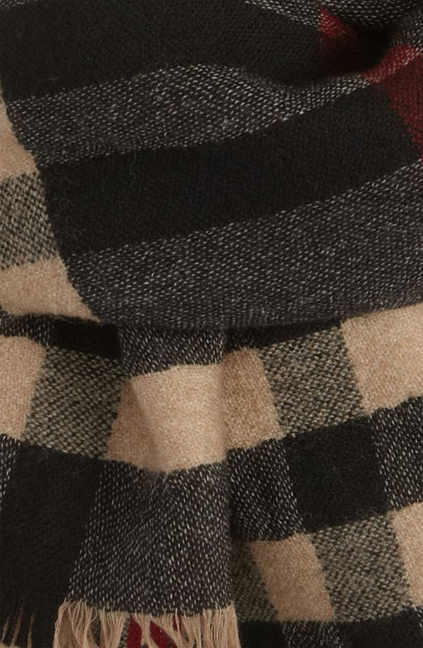 Alternate Image 2  - Burberry Check Scarf