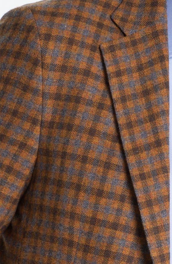 Alternate Image 3  - Robert Talbott Check Wool Sportcoat