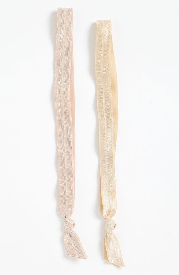 Alternate Image 1 Selected - Emi-Jay 'Pearl' Headbands (2-Pack)