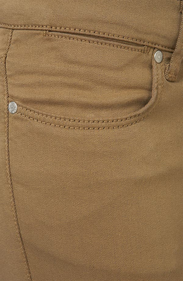 Alternate Image 3  - Topshop Moto 'Leigh' Skinny Jeans (Tobacco) (Petite)