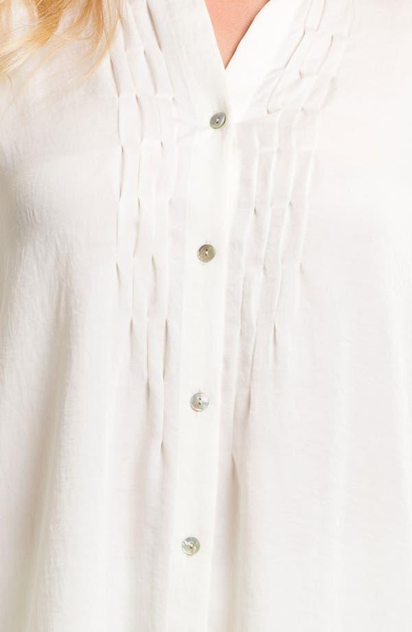 Alternate Image 3  - Donna Karan Laundered Satin Pajamas
