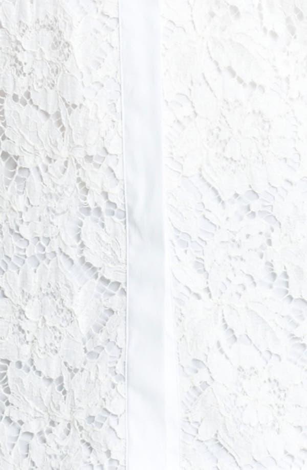 Alternate Image 3  - Valentino Lace Inset Shirt
