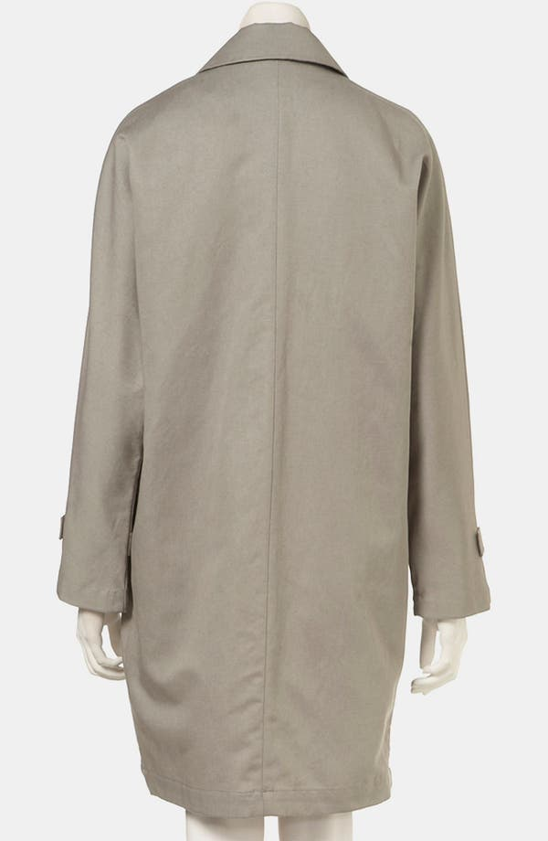 Alternate Image 2  - Topshop Dolman Sleeve Asymmetric Trench