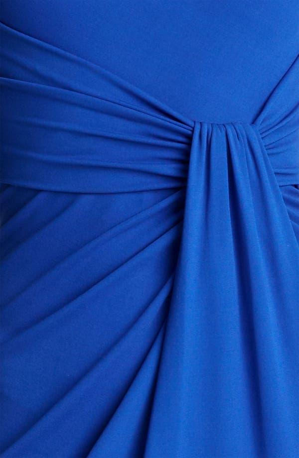 Alternate Image 3  - Michael Kors One Shoulder Matte Jersey Sheath Dress