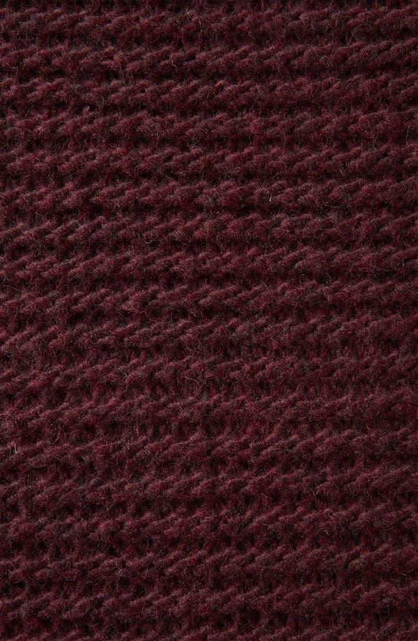 Alternate Image 3  - Topshop Zip Shoulder Textured Knit Sweater