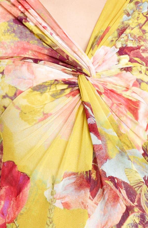 Alternate Image 3  - Jean Paul Gaultier Fuzzi Print Tulle Top