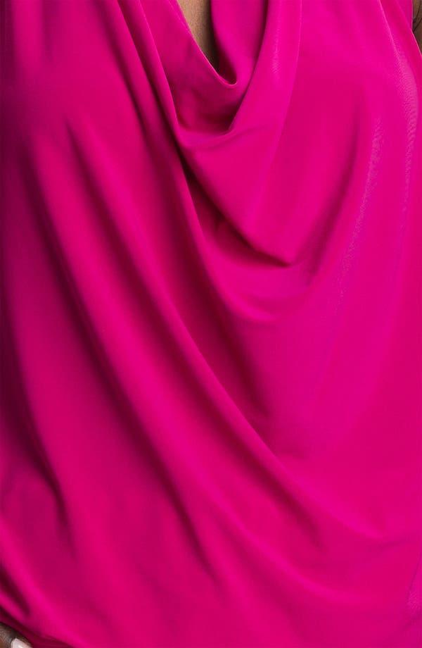 Alternate Image 3  - Abi Ferrin 'Fantasia' Cowl Neck Jersey Halter Dress