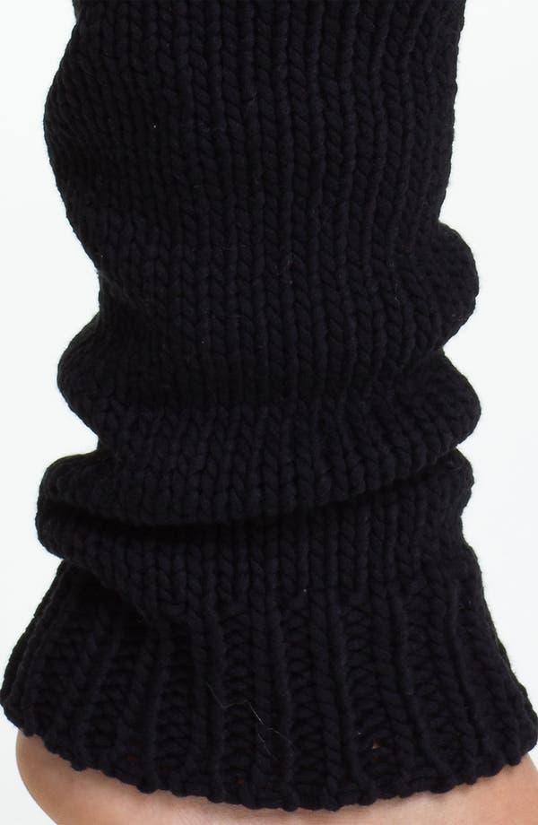 Alternate Image 2  - DKNY Chunky Knit Leg Warmers