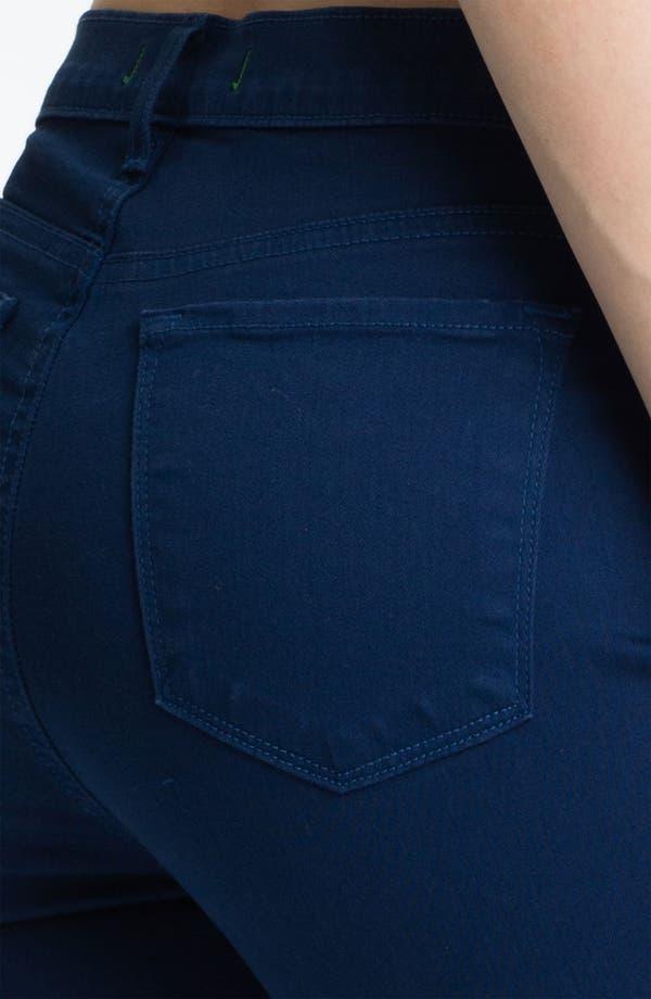 Alternate Image 3  - J Brand 'Maria' High Rise Skinny Stretch Jeans (Nightfall)