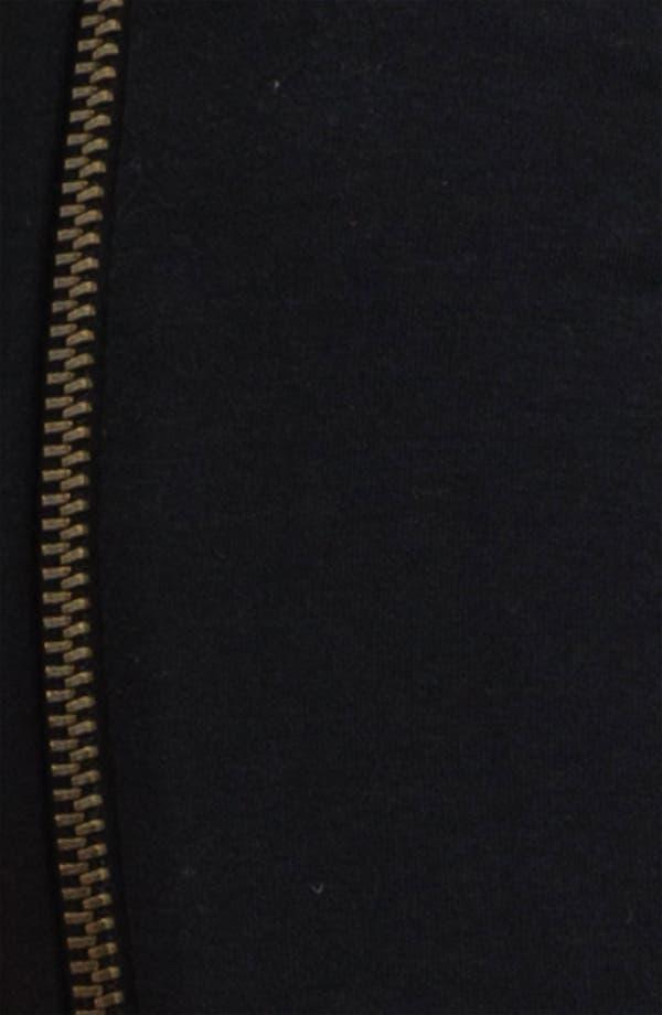 Alternate Image 2  - Hot Sox Side Zipper Leggings