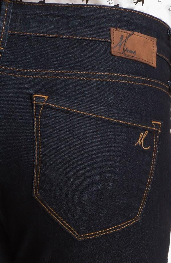 Alternate Image 3  - Mavi Jeans 'Alexa' Mid Rise Super Skinny Jeans (Rinse Super)